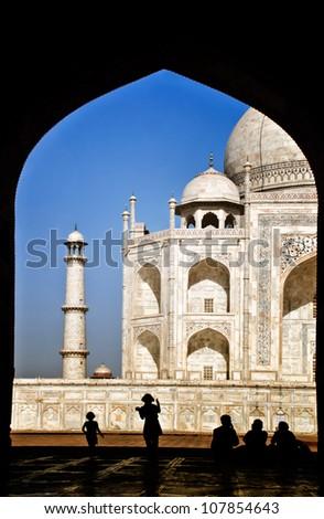 Mosque inside taj mahal essay
