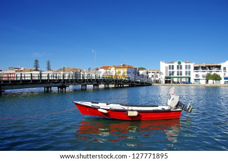 View of Tavira city, Portugal