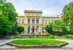 View of the archaeological museum in Varna