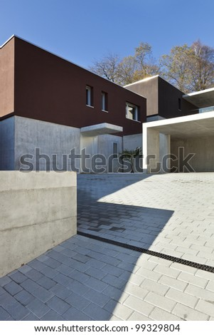 view of the beautiful modern houses,  outdoor