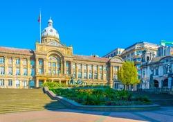View of the Birmingham Museum & Art Gallery, England