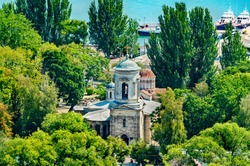 View of the Church of St. John the Baptist in Kerch, Crimea