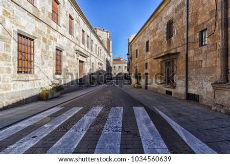 Shutterstock view of the city of ciudad rodrigo