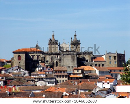 View of the City of Viseu Portugal