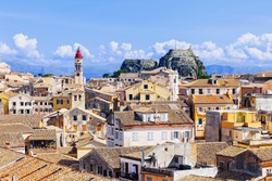 View of the Corfu town, Corfu island, Ionian islands, Greece