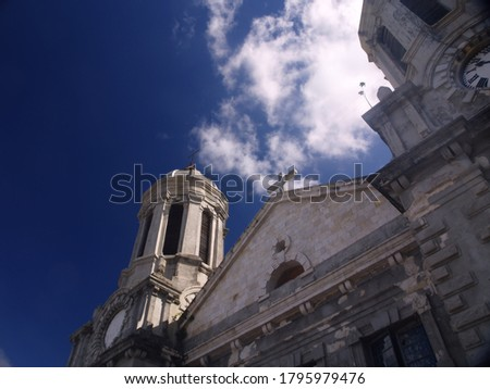 view of the front of the Cathedral f St. John on the island of Antigua        Stock fotó ©