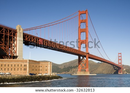 view of the golden gate bridge San Francisco