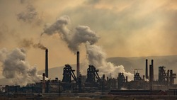 view of the Magnitogorsk Metallurgical Plant