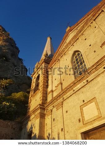 View of the monument ,Pentedattilo , Reggio Calabria, Calabria, Italy - Image #1384068200