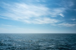 view of the open North Sea