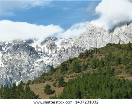 View of the Peaks of Europe