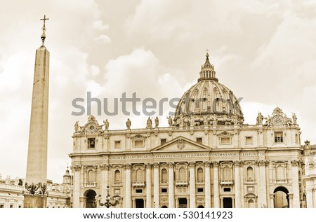 view of the st. peter's...