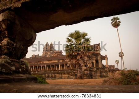 View of the temple, Angkor Wat, Cambodia