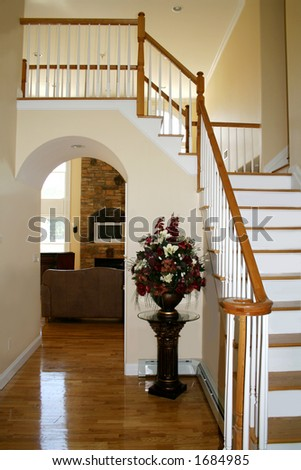 View of upscale home seen from entryway