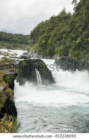View of Vicente Prez Rosales National Park - Los Lagos Region, Llanquihue Province, of Chile Stock fotó ©
