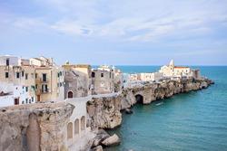 View of Vieste, Apulia, Italy