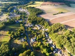 View of Villaines-les-Rochers, Indre-et-Loire, Centre-Val de Loire, France