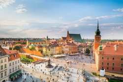 View of Warsaw Old Town