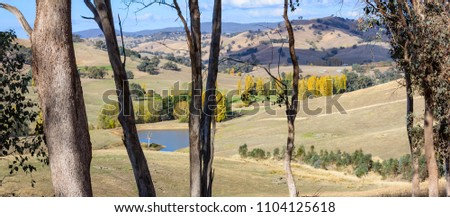 View off Brewers Rd, Woorragee North, Victoria, Australia #1104125618