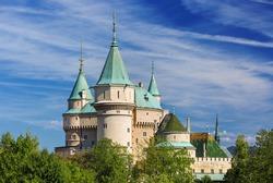 View on Bojnice castle(1113) UNESCO,Slovakia