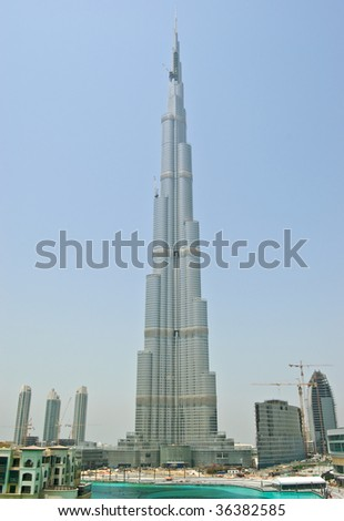 View on Burj Dubai, UAE