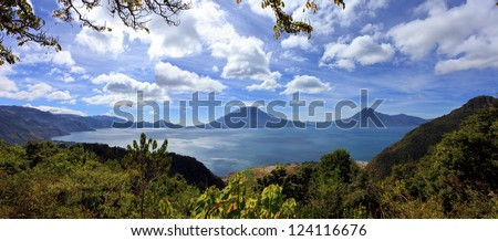 View on Lake Atitlan