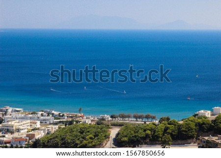 View on the coastline from Kefalos #1567850656