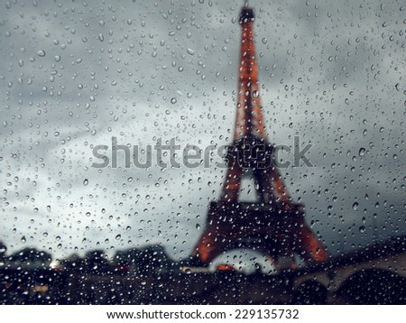 view on the eiffel tower...