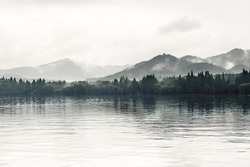 View on the enchanting West Lake, Hangzhou, China