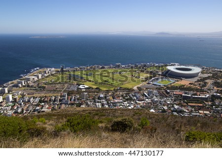View over cape town #447130177