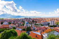 View over Prizren, a city in Kosovo.
