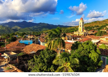 Shutterstock View over the city Trinidad on Cuba