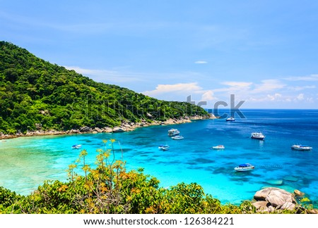 View Point at Similan island, Thailand