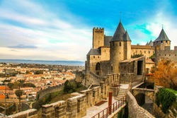 view point of Cite de Carcassonne