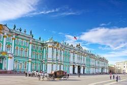 View Winter Palace  in  Saint Petersburg