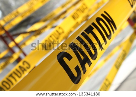 View with Caution - Shutterstock ID 135341180