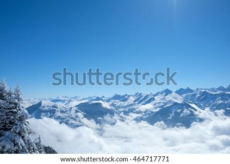 Viewed from Stanserhorn at Switzerland. #464717771