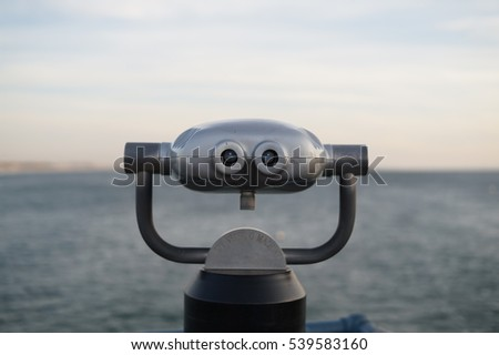 viewing the ocean, vision of your future