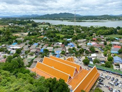 Viewpoint of Tha muang city at