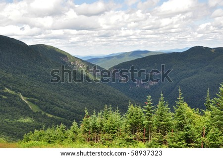 Views from Mt. Mansfield Vermont