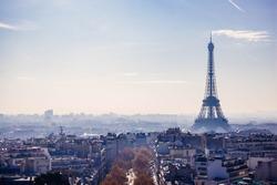 Views of eiffel tower (Paris)