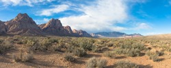 Views of Red Rock Canyon, near Las Vegas, Nevada, USA