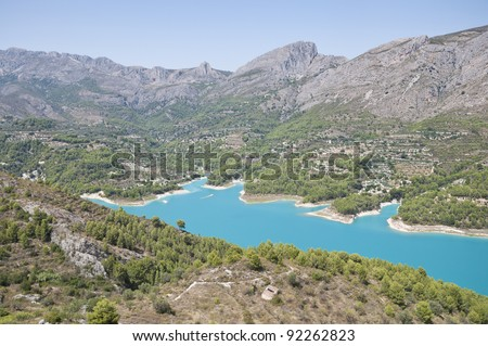 Guadalest Valley Spain Guadalest Alicante Spain