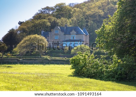Views of the picturesque village of Lee and Lee Bay, Near Ilfracombe, Devon, UK #1091493164