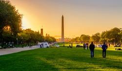 Views of the Washington Monument in Washington, DC Washington Monument USA
