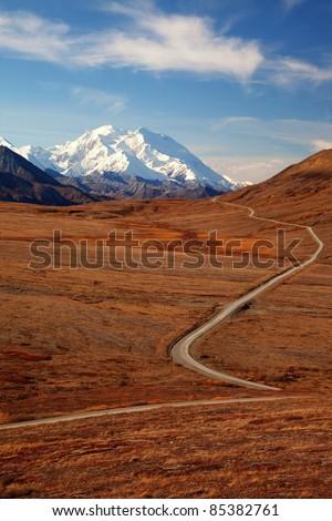 Views to Mount Mckinley