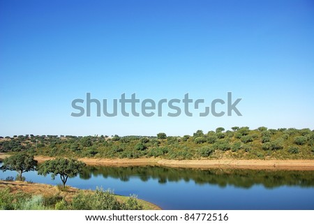 Vigia barrage, alentejo region, Portugal