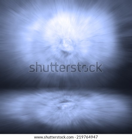 vignette Blue deep zoom abstract background  #219764947