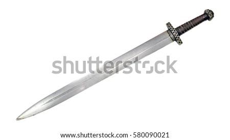 Viking sword medieval Norman Slavs Russian cold steel blade #580090021