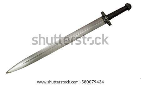 Viking sword medieval Norman Slavs Russian cold steel blade stabbing slashing  #580079434